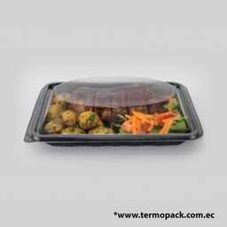 [TP-0106 BS-0072] PET ENSALADERA RECTANGULAR 700 GR / COSTILLA